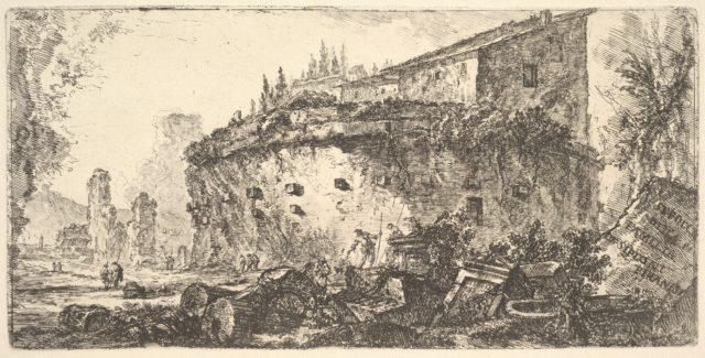 Plate 18: The Tomb of the Scipios (Sepolcro della famiglia de' Scipioni)