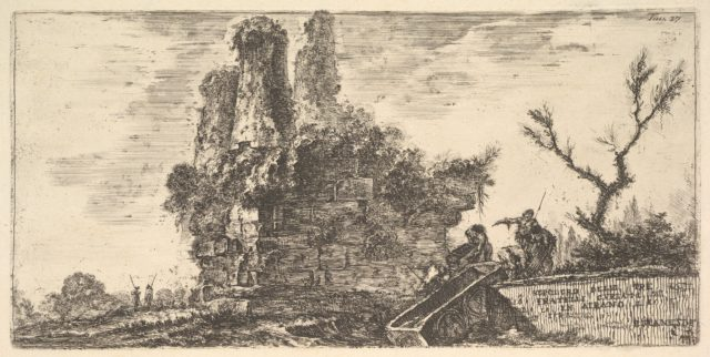 Plate 27: Tomb of the three Curiatii brothers in Albano (Sepolcro delle tre fratelli Curiati in Albano)