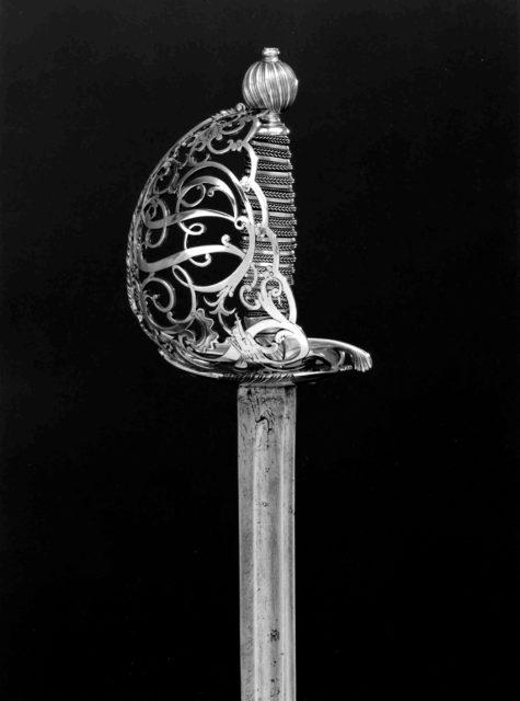Basket-Hilted Sword