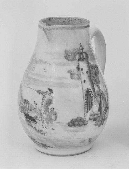 Hot milk jug (part of a service)