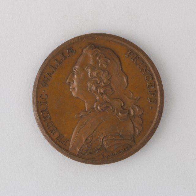 Medal Showing Frederick, Prince of Wales