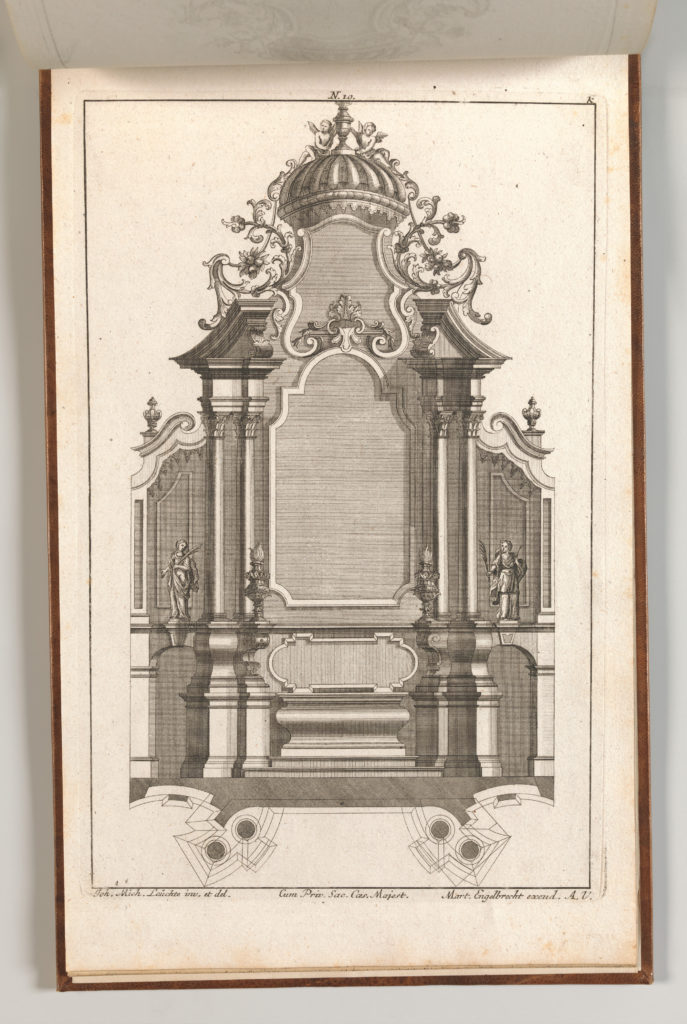 Page from Album of Ornament Prints from the Fund of Martin Engelbrecht