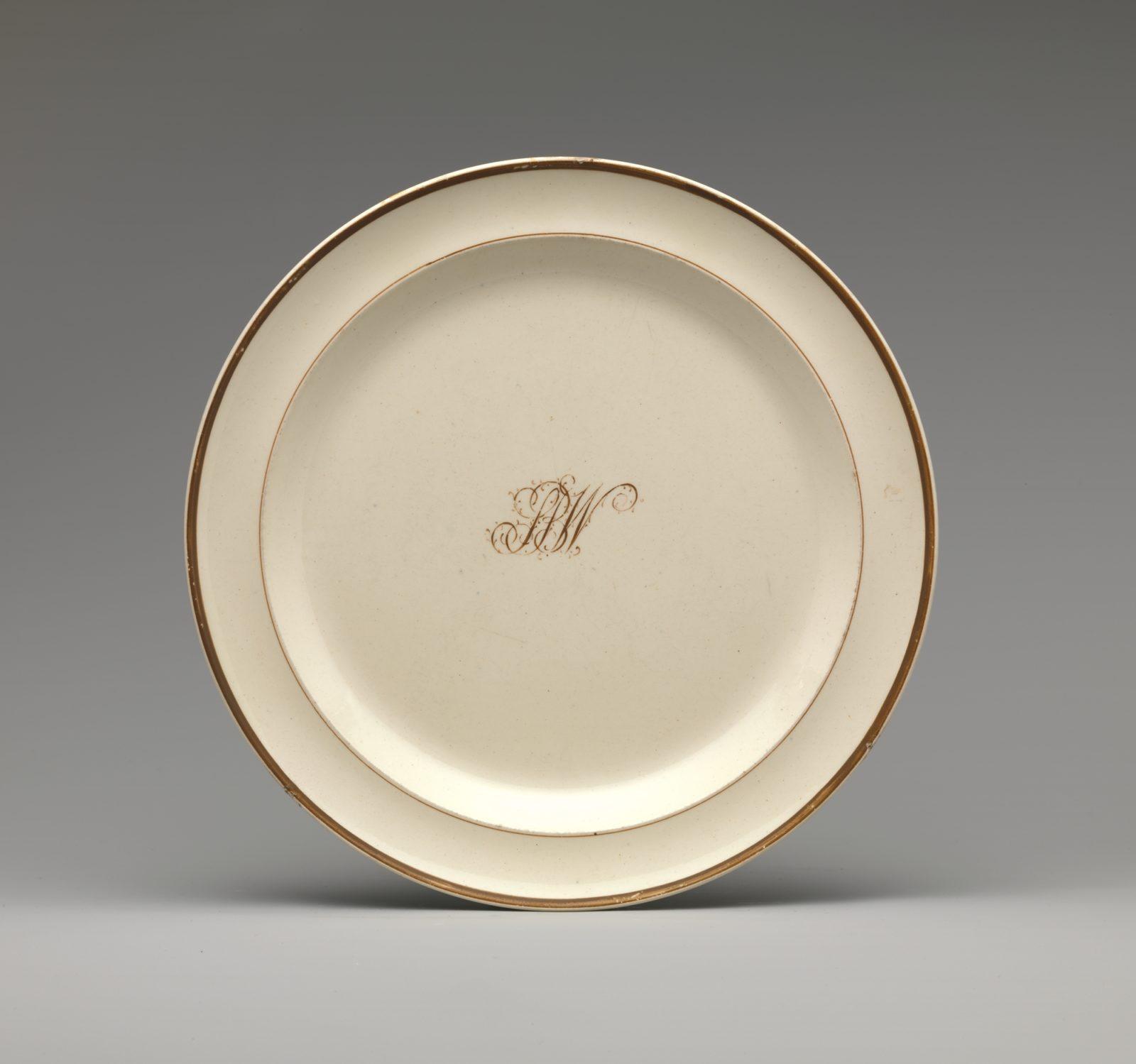 Diplomatic Tray Ceramics Luca Castelli Antiques