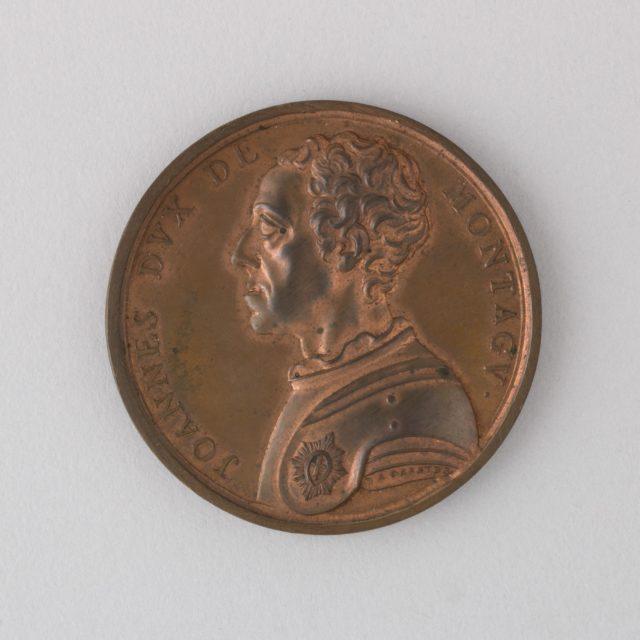 Medal Showing John, Second Duke of Montagu