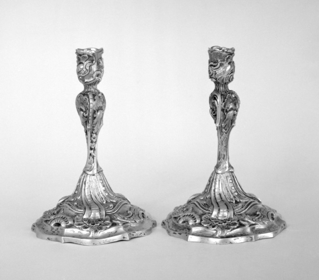Candlestick (one of a pair)