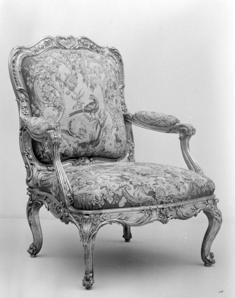 Armchair seat