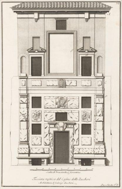 Scelta di architetture antiche e moderne della citta di Firenze opera gia data in luce, misurata, disegnata, ed intagliata dal celebre Ferdinando Ruggieri architetto fiorentino