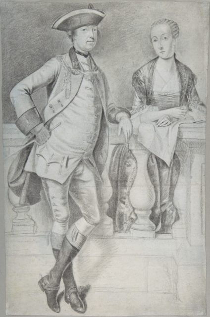 Study for a Portrait of an Officer and His Wife