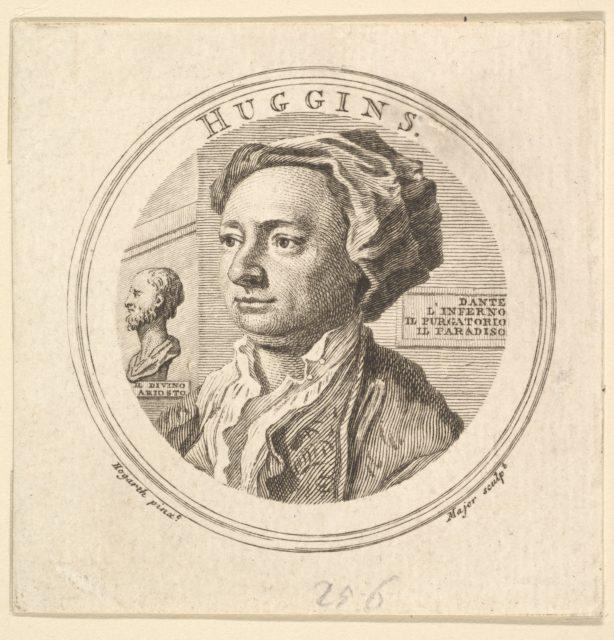 Portrait of William Huggins, translator of Ariosto