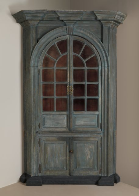 Corner cupboard from a House in Lancaster County, Pennsylvania