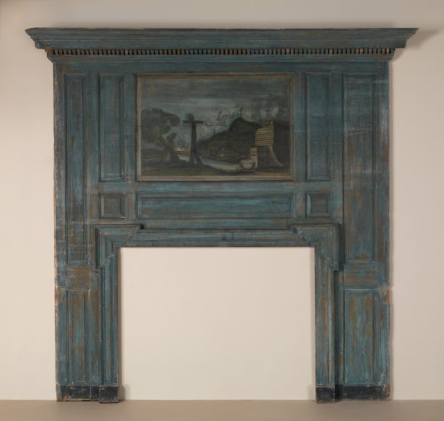 Overmantel: Landscape with Wayside Crosses