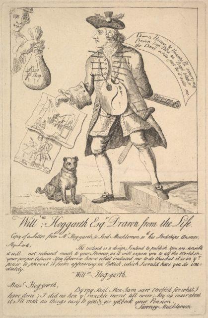 William Hog-garth Esq. Drawn from the Life
