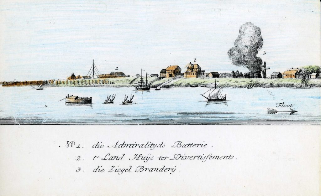 1-3. Arkhangelsk on the Dutch engraving of 1765