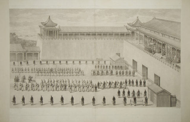 Prisoners Presented to the Emperor