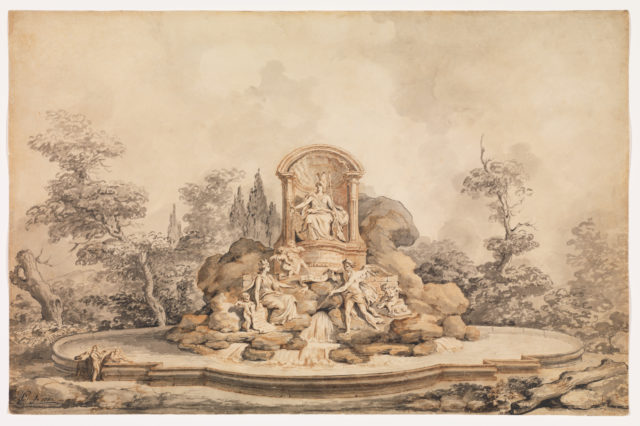 Project for a Monumental Fountain