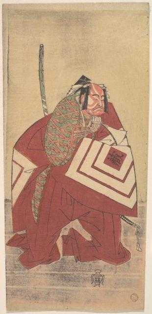 The Actor Ichikawa Danzō III as a Court Noble