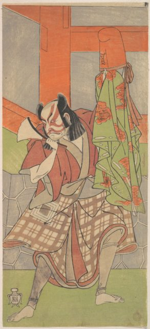 The Fourth Ichikawa Danjuro in the Role of Yahei-byoe Munekiyo