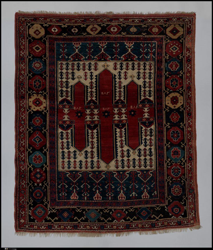 Triple Niche Carpet