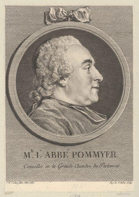 Portrait of L'Abbé Pommyer