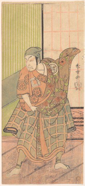 The Fourth Ichikawa Danjuro in the Role of Ukishima Danjo