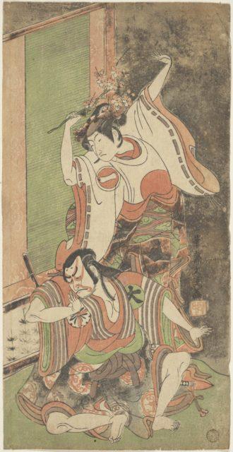 Ichikawa Monnosuke II as a Woman