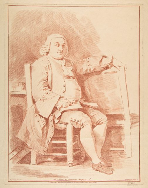 Portrait de Bergeret