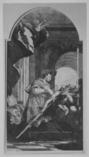 Saint Charles Borromeo Venerating the Crucifix