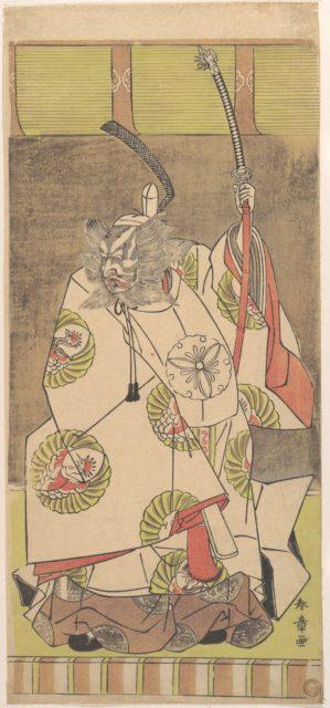 Kabuki Actor Ichikawa Danjūrō IV