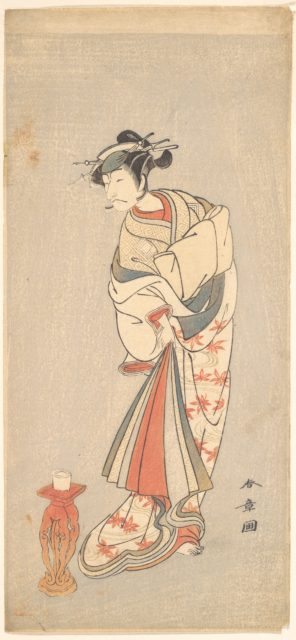 The Actor Ichikawa Danjuro V in the Role of a Woman