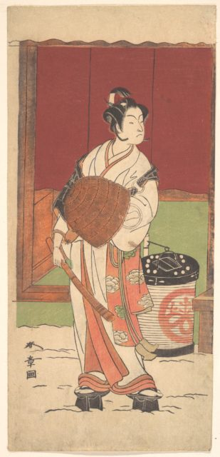 The Actor Ichikawa Monosuke II in the Role of Daito-no-miya Disguised as a Komuso