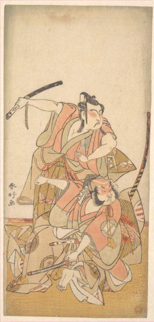 The Actor Ichikawa Yaozo II in the Role of Soga no Goro