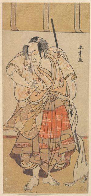 The First Onoe Kikugoro as an Angry Man