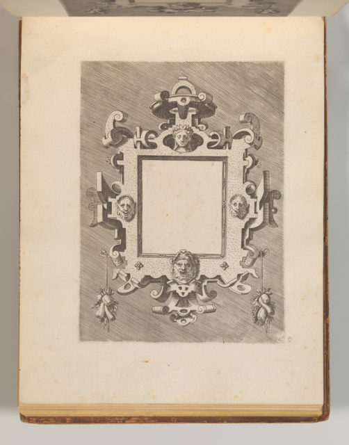 Targhe ed altri ornati di varie e capricciose invenzioni (Cartouches and other ornaments of various and capricious invention, page 29)