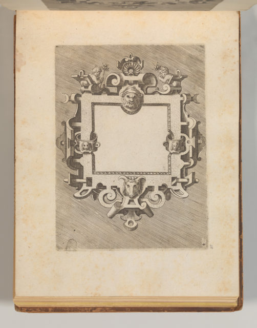 Targhe ed altri ornati di varie e capricciose invenzioni (Cartouches and other ornaments of various and capricious invention, page 33)