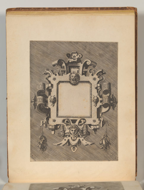 Targhe ed altri ornati di varie e capricciose invenzioni (Cartouches and other ornaments of various and capricious invention, page 30)