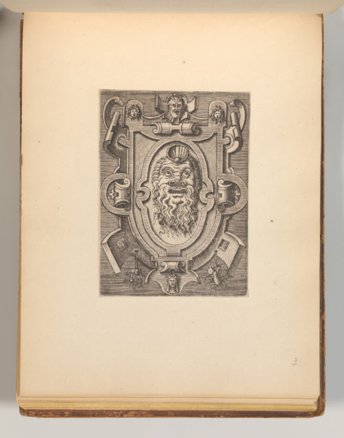 Targhe ed altri ornati di varie e capricciose invenzioni (Cartouches and other ornaments of various and capricious invention, page 35)