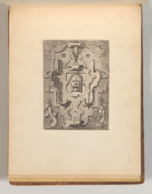 Targhe ed altri ornati di varie e capricciose invenzioni (Cartouches and other ornaments of various and capricious invention, page 36)