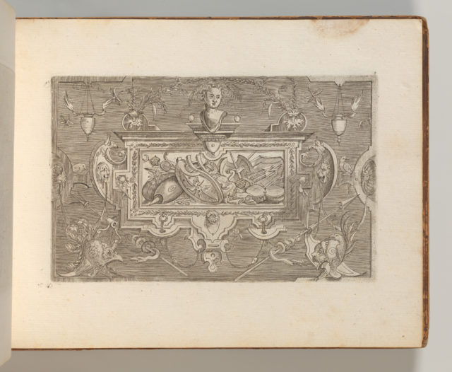 Targhe ed altri ornati di varie e capricciose invenzioni (Cartouches and other ornaments of various and capricious invention, page 3)