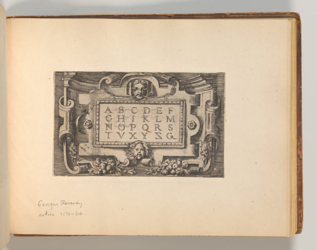 Targhe ed altri ornati di varie e capricciose invenzioni (Cartouches and other ornaments of various and capricious invention, page 41)