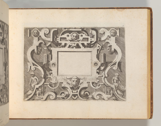 Targhe ed altri ornati di varie e capricciose invenzioni (Cartouches and other ornaments of various and capricious invention, page 20)