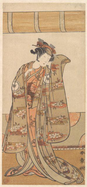 The Fourth Iwai Hanshiro as a Woman