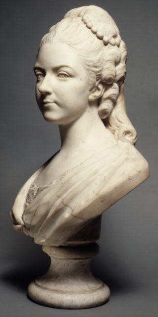 Félicité Sophie de Lannion, Duchesse de La Rochefoucauld, at the Age of 29 Years (1745–1830)