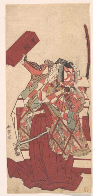 The Fourth Ichikawa Danjuro in Shibaraku