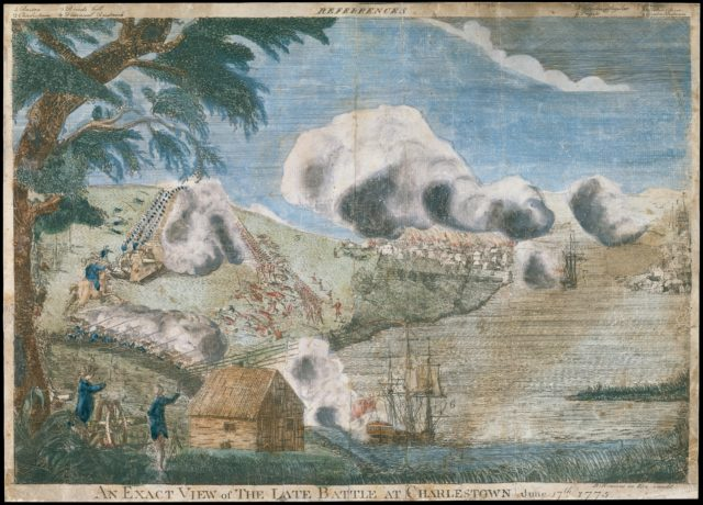 An exact view of the late battle at Charlestown, June 17th, 1775