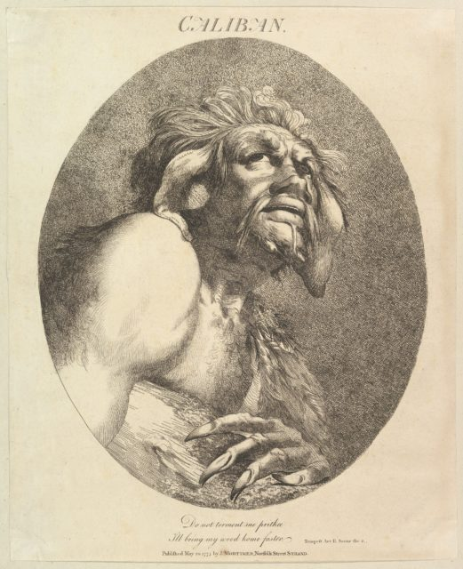 Caliban (Twelve Characters from Shakespeare)