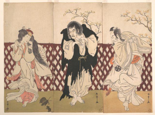 Ichikawa Danjuro IV in the Role of the Monk Mongaku from the Play Hana-zumo Genji-biki