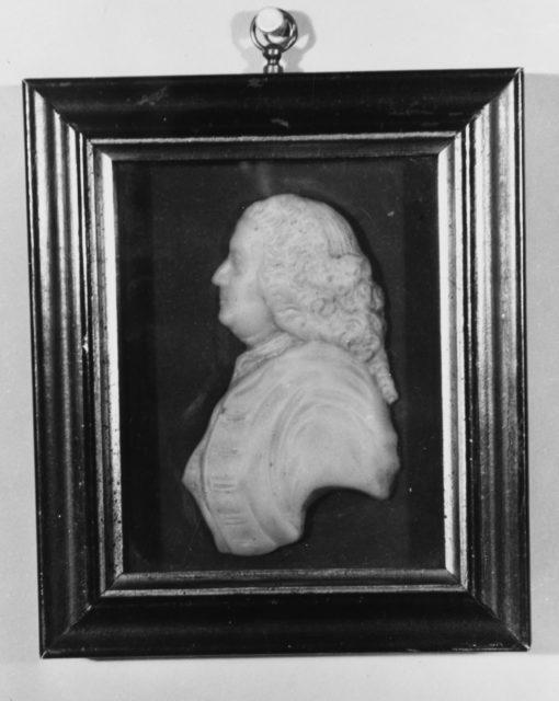 Profile Bust of Benjamin Franklin