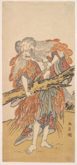 The 5th Ichikawa Danjuro in the Role of Yamauba