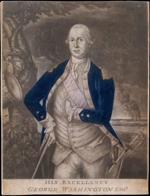 His Excellency George Washington Esq-r.