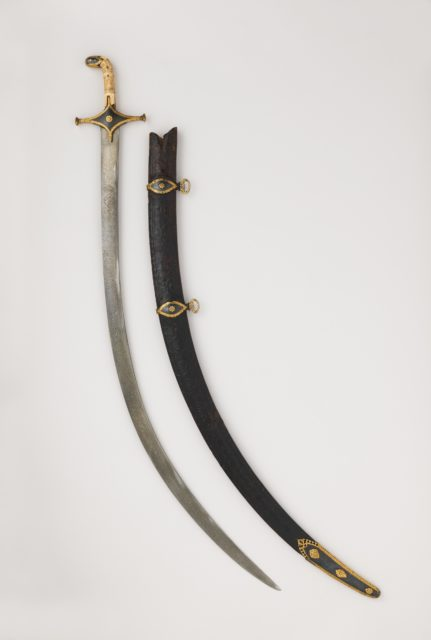 Saber with Scabbard